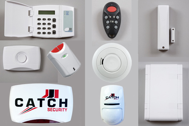 Catch Security Mid-West Alarms Intruder Alarms equipment